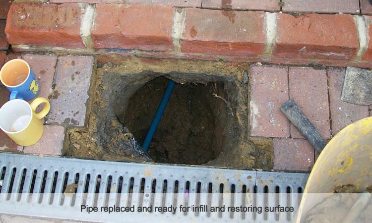 water mains repair