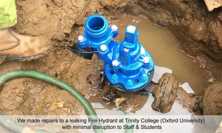 Repair water mains