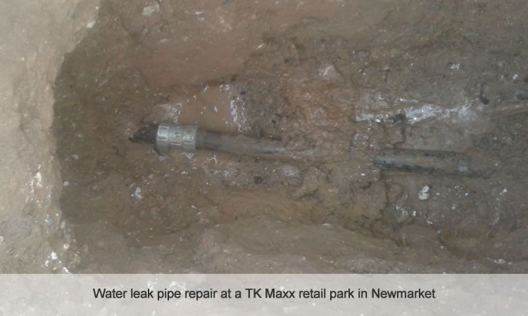 Water mains pipe repair