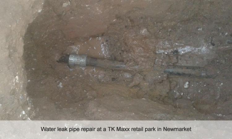 Water mains pipe repair